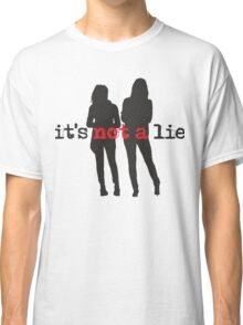 Cophine-It's not a lie Classic T-Shirt