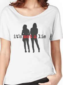 Cophine-It's not a lie Women's Relaxed Fit T-Shirt