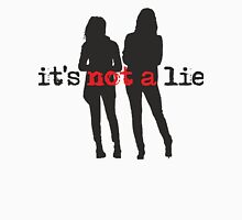 Cophine-It's not a lie Womens Fitted T-Shirt