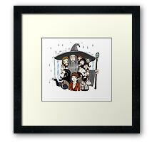 The Hobbit- an unexpected rainfall Framed Print