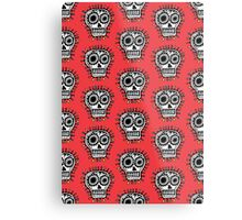 Sugar Skull Fun Metal Print