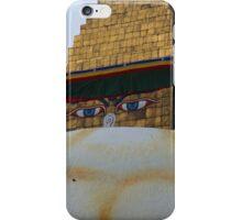 Kathmandu Stupa Eyes iPhone Case/Skin