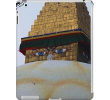 Kathmandu Stupa Eyes iPad Case/Skin
