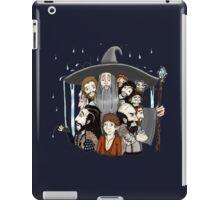 The Hobbit- an unexpected rainfall iPad Case/Skin