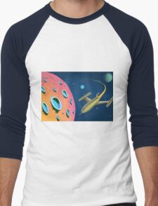 Adventure In Space Men's Baseball ¾ T-Shirt