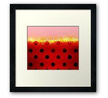 miraculous ladybug designs 2/3 Framed Print