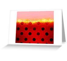 miraculous ladybug designs 2/3 Greeting Card