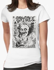 Grimes Cover Womens Fitted T-Shirt