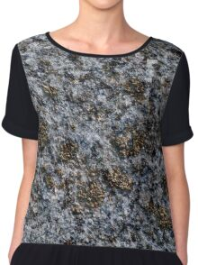 rock with gold pigments Chiffon Top