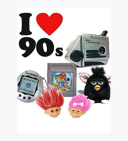 I <3 90s! Photographic Print