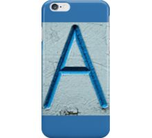A Is For Apple iPhone Case/Skin