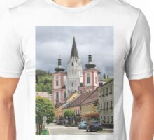 Mariazell Basilica, Styria Austria Unisex T-Shirt