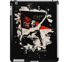 Anarchy Flag Woman - bleached look iPad Case/Skin