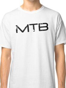 MTB Muddy Mountain Bike Gradient Classic T-Shirt