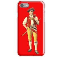 Swiss Cowherd from Appenzell iPhone Case/Skin