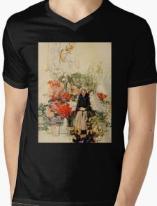 Easter in Paris Mens V-Neck T-Shirt