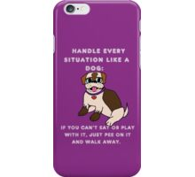 like a dog iPhone Case/Skin