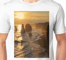 Glowing Sunset, 12 Apostles Unisex T-Shirt