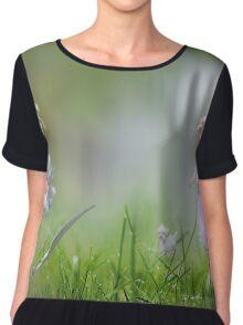 Meadow Float Women's Chiffon Top