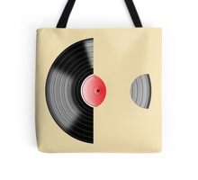 Vinyl Record Sleeved Tote Bag