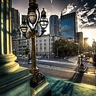Melbourne sunset 1 by mellosphoto