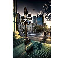 Melbourne sunset 1 Photographic Print