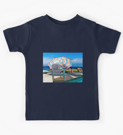 JULY 4TH BY THE POOL Kids Tee
