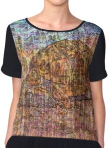 Desert Varnish - Namibian Highway Chiffon Top