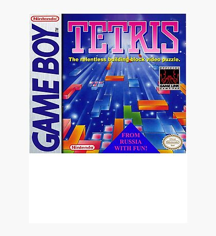 TETRIS! Photographic Print