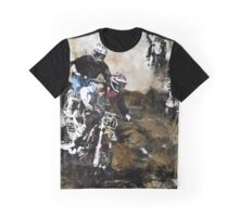 Motocross Dirt Bikers Graphic T-Shirt