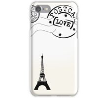 A Letter to Paris iPhone Case/Skin
