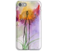 Fuchsia abstract iPhone Case/Skin