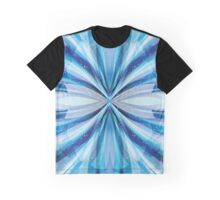 Abstract Blue  Graphic T-Shirt