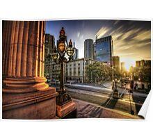 Melbourne sunset 2 Poster