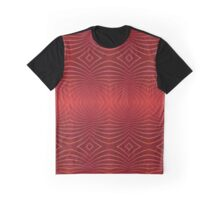 Red Rays Graphic T-Shirt