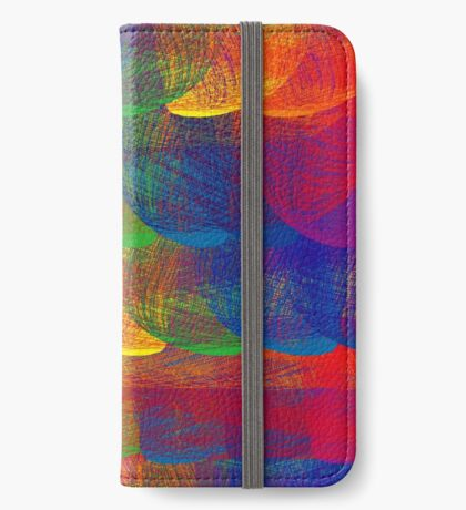 Rainbow Patch iPhone Wallet