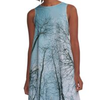 Blue Skies A-Line Dress