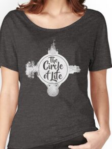 Circle of Life (WHITE) Women's Relaxed Fit T-Shirt
