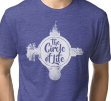 Circle of Life (WHITE) Tri-blend T-Shirt
