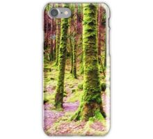 A Walk Among the Mossy Giants iPhone Case/Skin