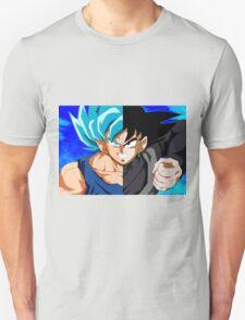 Goku God VS Black Goku Unisex T-Shirt