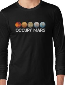Occupy Mars Terraform Long Sleeve T-Shirt