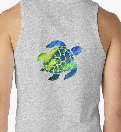 Tye Dye Turtle Tank Top