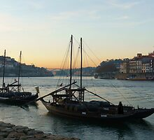 Douro Port Boats by CiaoBella