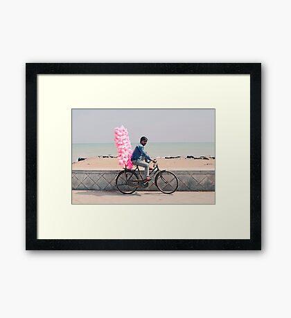 Fairy fluss in Pondycherry Framed Print