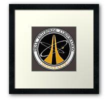 Moonraker - Drax Enterprise Corporation Framed Print