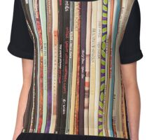 Vinyl Records Indie Rock  Chiffon Top