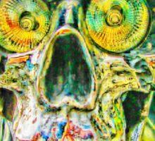 Crazy Skull#2 Sticker