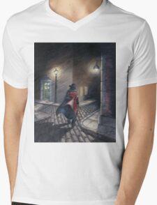 Murder by Gas Lamp Mens V-Neck T-Shirt