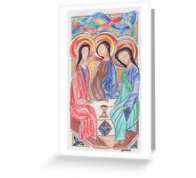 Celtic Trinity Greeting Card